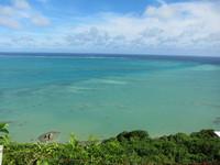 カフェくるくまから撮影した海1