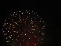 糸満ふるさと祭りの花火2 2011/07/24