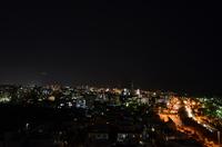 宜野湾バイパスの夜景