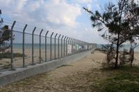 辺野古の基地の境界