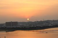 豊崎の夕日