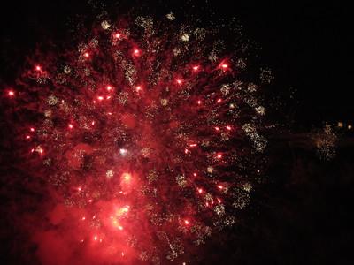糸満ふるさと祭りの花火3 2011/07/24