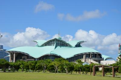 沖縄コンベンションセンター アップ