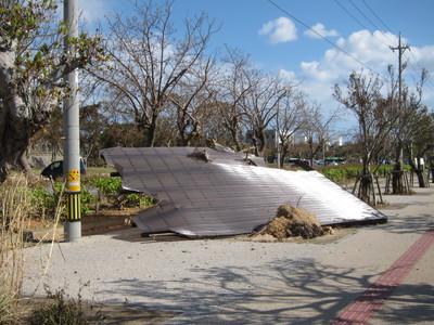 台風被害2013-01