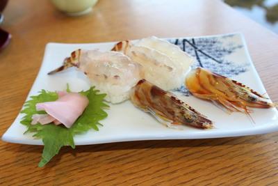 車海老寿司2貫